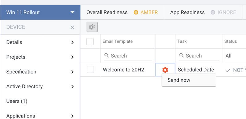 Send now task emails medusa